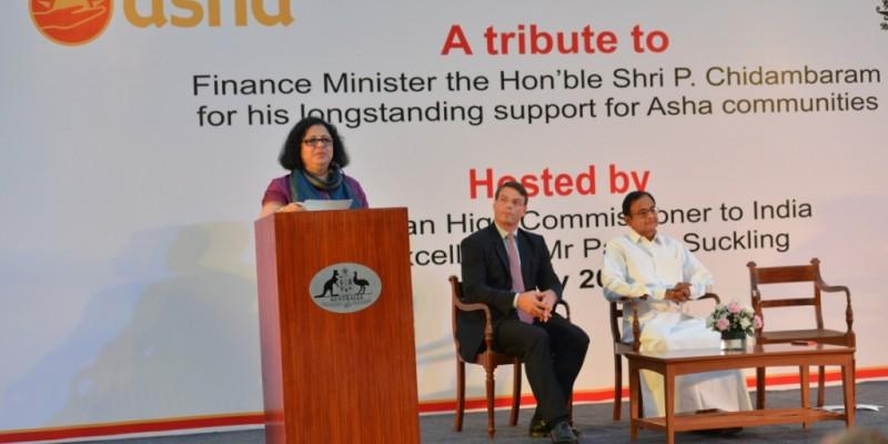 Dr Kiran announces the launch of Friends of Asha Delhi