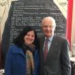 Dr Kiran meets former Governor of Victoria, Alex Chernov