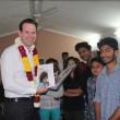 Australian Senator Hon. Mathew Canavan celebrates Women's Day at Asha