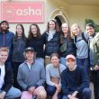 A team from Trinity College visits Asha