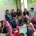 Workshop on menstrual hygiene at Asha by Macquarie Global Limited