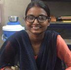 Priya: Looking through her newfound eyeglasses