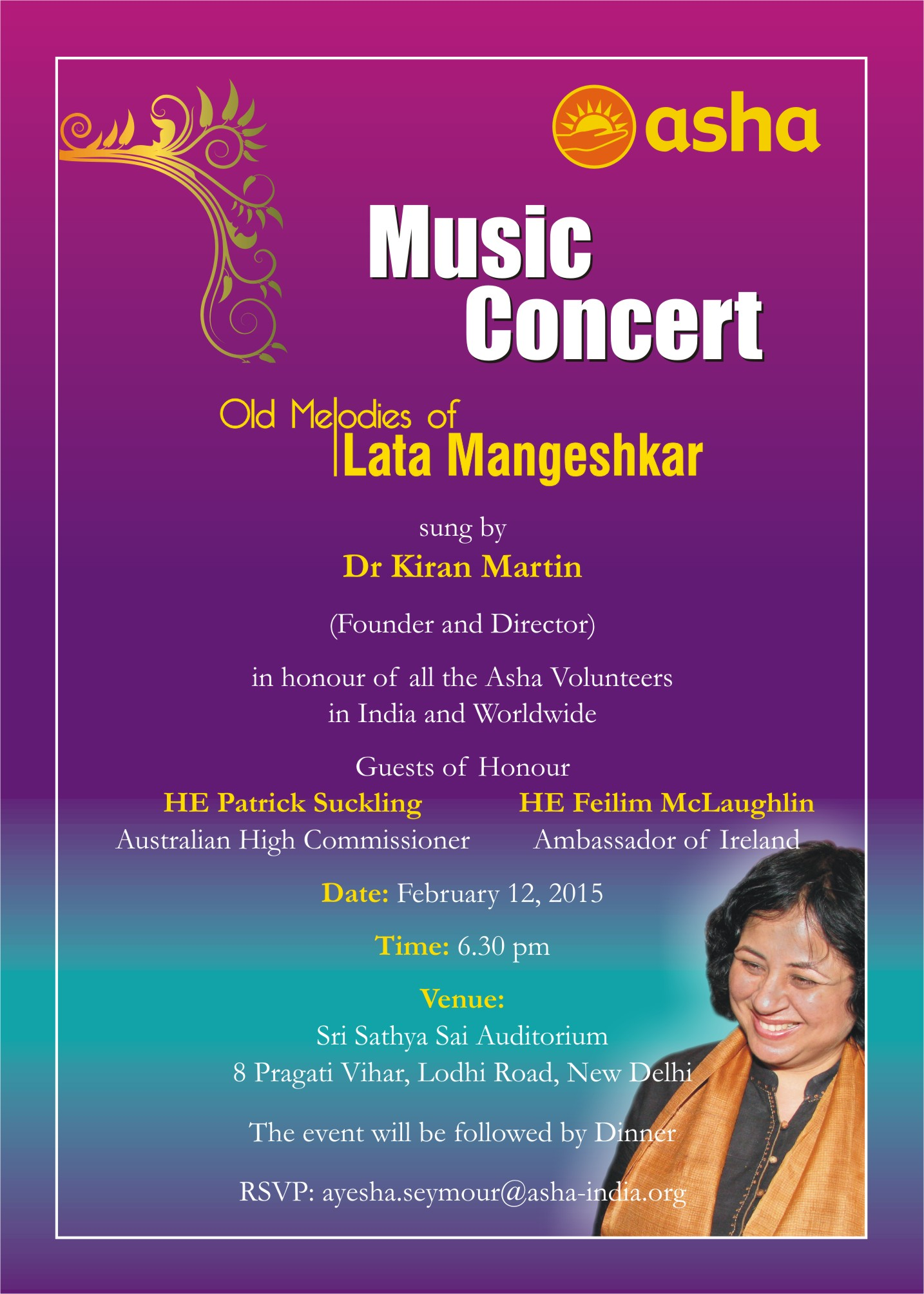 Music Concert by Dr Kiran