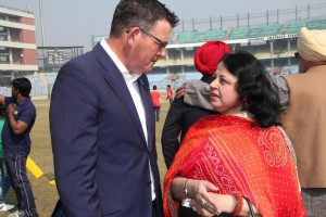 The Hon Premier of Victoria Daniel Andrews MP and Dr Kiran Martin engaged in a conversation at the event.