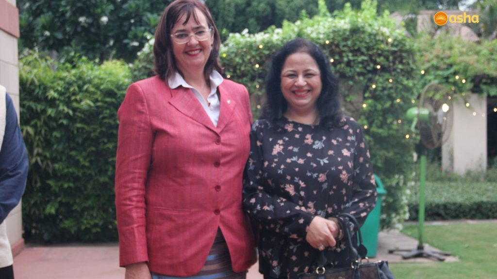 HE the New Zealand High Commissioner to India- Joanna Kempkers with Dr Kiran