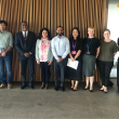 Dr Kiran and Asha graduate Mahinder visit the University of Queensland