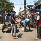 Asha launches a sanitation drive for all slum communities