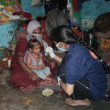 Asha's supplementary feeding program provides children with a nutritious diet