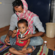Asha COVID-19 Emergency Response: 'Asha High Energy Laddoo' inaugurated by Dr Kiran at Zakhira slum community
