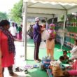 Asha provides relief materials to the poor who lost their homes in Anna Nagar slum