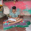 Asha student Vivek- the first student from Kanchan Basti slum who will attend University