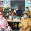 Asha Team at Seelampur showcase Asha value 'Generosity'