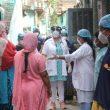Asha's COVID-19 Emergency Response: Dr Kiran visits Chanderpuri slum community where all covid protocols are being followed