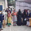 Asha team and Asha warriors work tirelessly to get every slum dweller vaccinated