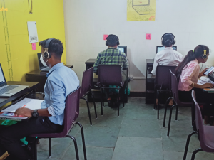 Asha students in slums begin their online internships with Macquarie Group