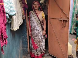 Asha Women's Group President Ramwati from Zakhira leads the way in her community